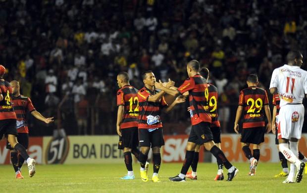 sport x boa esporte (Foto: Antônio Carneiro / Pernambuco Press)