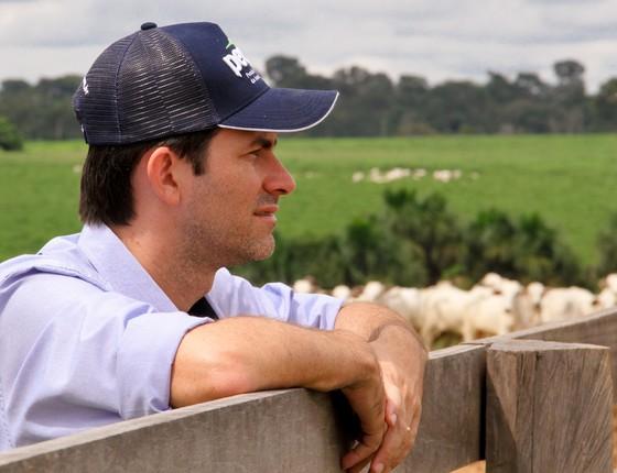 Vando Telles, diretor executivo da Pecsa, fala sobre pecuária sustentável no Festival Origem (Foto: Divulgação)