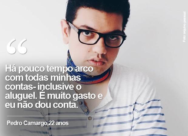 Pedro Camargo, 21 anos  (Foto: arquivo pessoal)