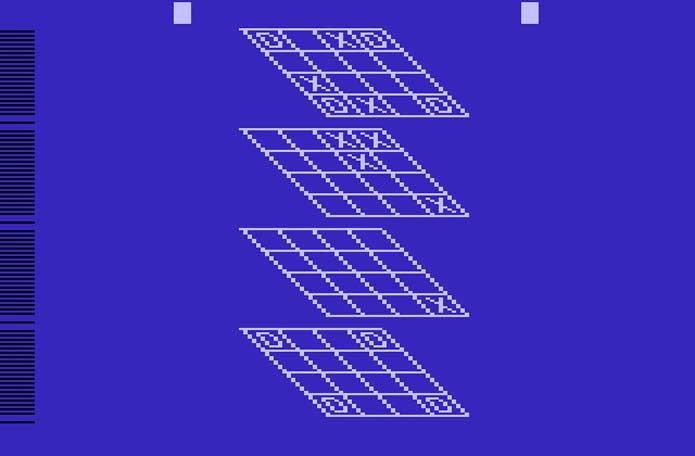 Jogo da Velha 3D, adiante de seu tempo (Foto: Reprodução/Atari Archives)