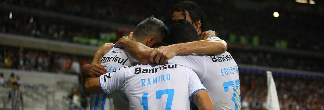 Veja os melhores momentos  de Atlético-MG 1x3 Grêmio (Lucas Uebel/Divulgação Grêmio)