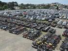 Detran faz leilão online de 733 veículos em Bauru nesta 2ª feira