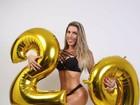 Tati Minerato comemora 29 anos com ensaio sexy: 'Mais confiante e bonita'