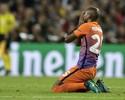 """Fernandinho diz que 4 a 0 não reflete jogo e lamenta escorregão: """"Foi azar"""""""