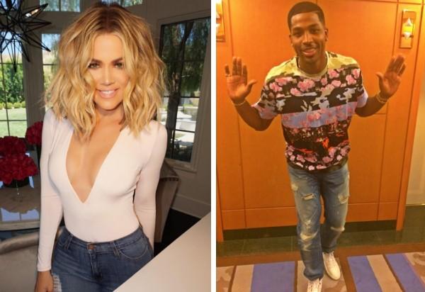 Khloé Kardashian e o jogador de basquete Tristan Thompson (Foto: Instagram)