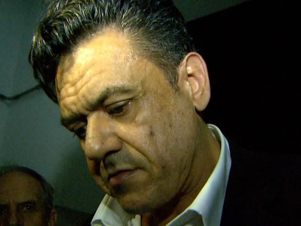 Pablo Russel Rocha passou a noite na Central de Flagrantes da Polícia Civil (Foto: Reprodução/EPTV)