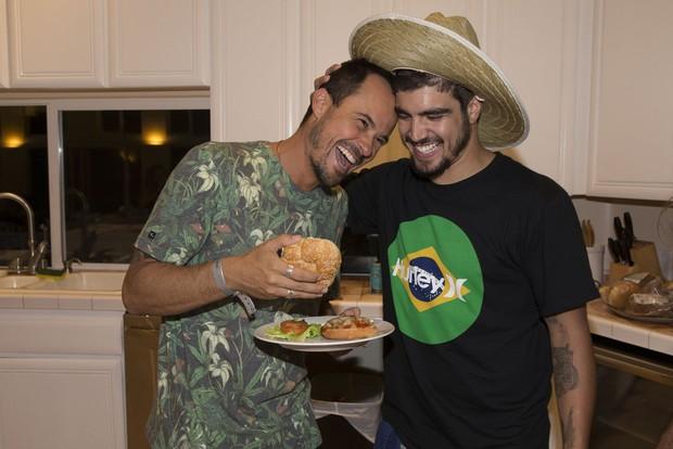 Paulo Vilhena e Caio Castro (Foto: Felipe Panfili/Divulgação)