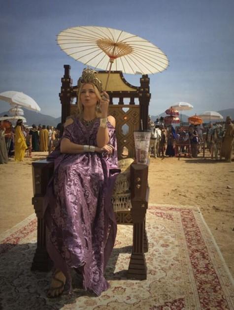 Christine Fernandes em 'O Rico e Lázaro' (Foto: Sacha Bali)