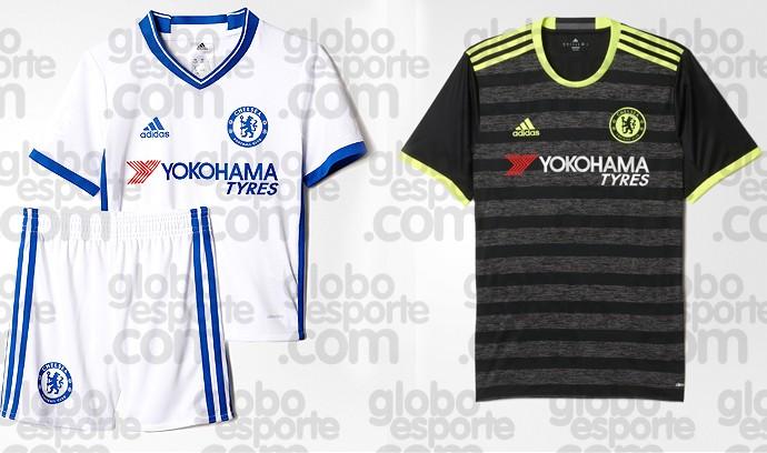 BLOG: Chelsea mantém cores de segundo e terceiro uniformes; confira os detalhes