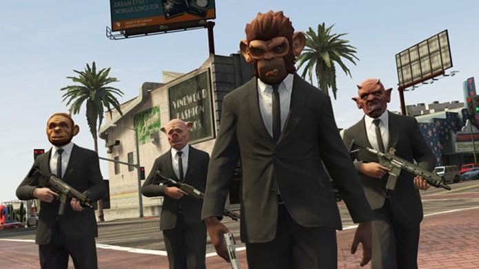 Novo DLC com os assaltos Heists agitará o multiplayer online de GTA 5 (Foto: Divulgação)