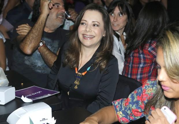 A mãe de Sandy, Noely (Foto: Roberto Filho / Agnews)