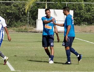 jogo treino do Cruzeiro x Vitória-ES (Foto: Marco Antônio Astoni)