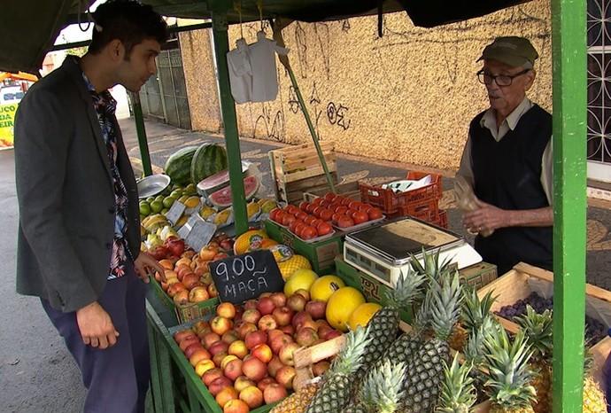 Empresários se inspiraram no ambiente da feira para abrir o próprio negócio (Foto: Reprodução/TVTEM )
