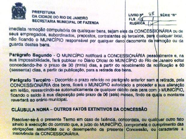 Concessão Engenhao 3 (Foto: Reprodução)