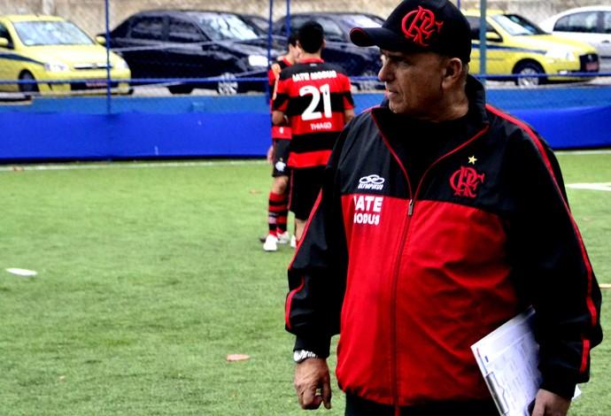 José Moraes, técnico Flamengo Futebol de 7 (Foto: Joaquim Azevedo/Jornal F7)