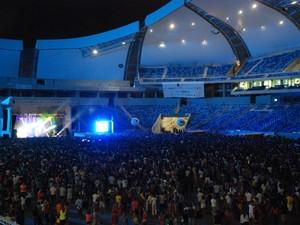 Show de Zeca Baleiro na Arena das Dunas (Foto: Marco Polo/Divulgação)