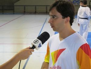 Belmiro Giordani taekwondo (Foto: Bruno Gutierrez / Globoesporte.com)