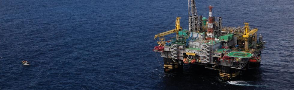TOPO Plataforma de petróleo da Petrobras (Foto: Rich Press/Getty Images)