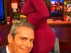 Apresentador faz selfie com bumbum de Kim Kardashian