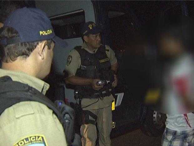 Polícia em MS prende dez suspeitos de embriaguez ao volante após festa (Foto: Reprodução/TV Morena)