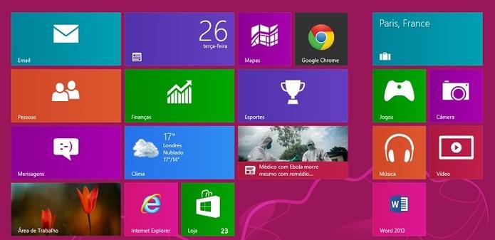Como fazer o Chrome funcionar no Windows 8 e 8.1 (Reprodução/Karla Freire)