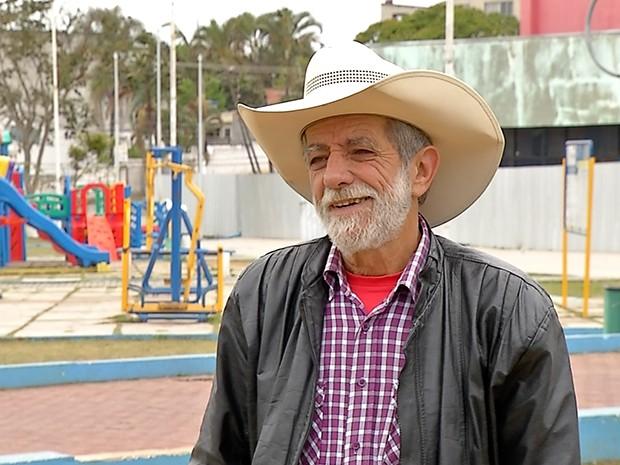 Zé Biruta do PRB foi eleito prefeito de Ferraz de Vasconcelos (Foto: Reprodução/TV Diário)