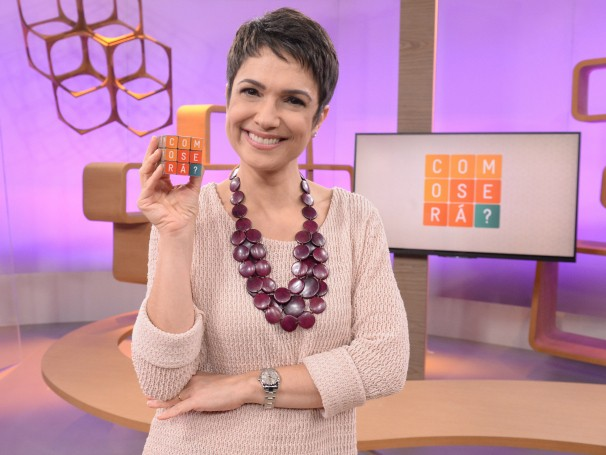 Sandra Annenberg apresenta o programa Como Será? (Foto: Globo/Zé Paulo Cardeal)