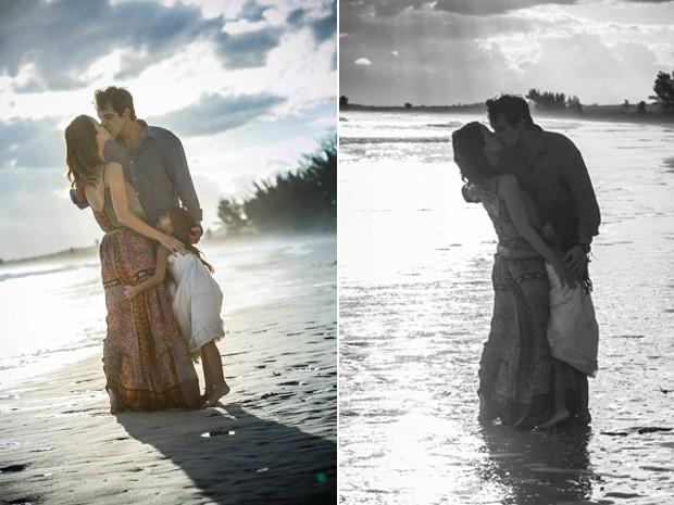 O amor do casal superou todos os obstáculos (Foto: Raphael Dias/Gshow)