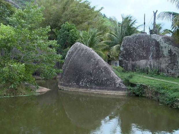 Parte de Fradinhos pode se transformar em parque, em Vitória (Foto: Reprodução/ TV Gazeta)
