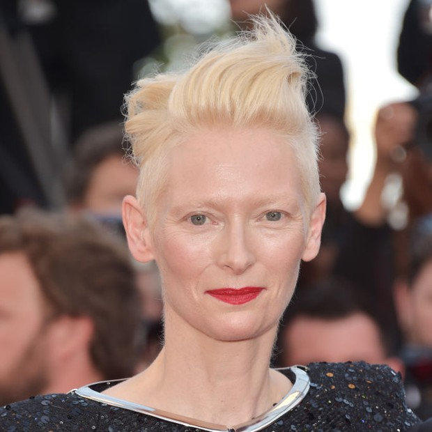 Tilda Swinton em Cannes 2017 (Foto: Getty Images)