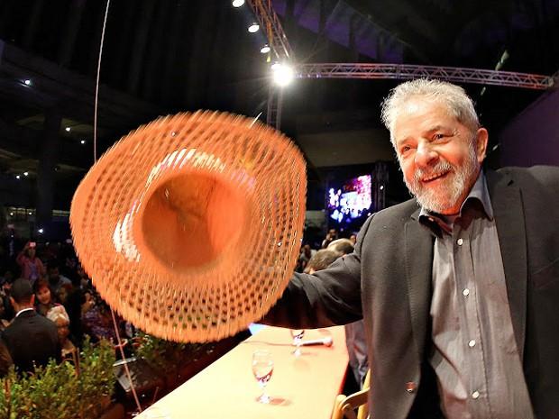 Lula participa de evento com trabalhadoras rurais em Brasília (Foto: Ricardo Stuckert/Instituto Lula)