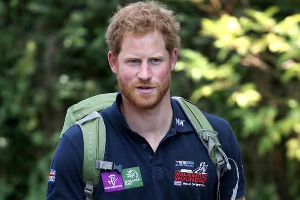 Príncipe Harry cansou das invasões constantes da imprensa em sua vida pessoal (Foto: Getty Images)