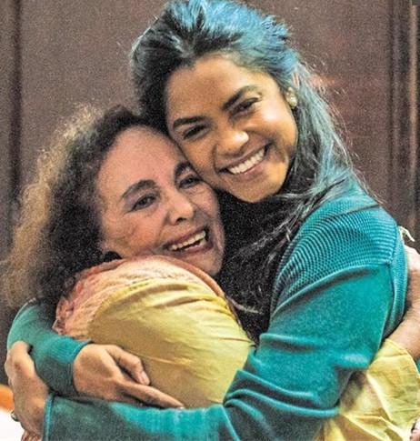 Zezita Matos e Lucy Alves (Foto: Divulgação)