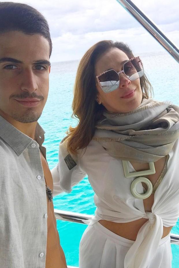 Enzo Celulari e Claudia Raia (Foto: Reprodução/Instagram)