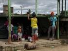 Venezuelanos chegam todos os dias para buscar refúgio no Brasil