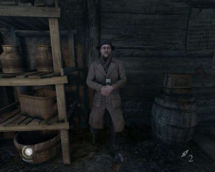 O vendedor no esconderijo de Basso possui quantidades quase ilimitadas de itens (Foto: Reprodução/Paulo Vasconcellos)