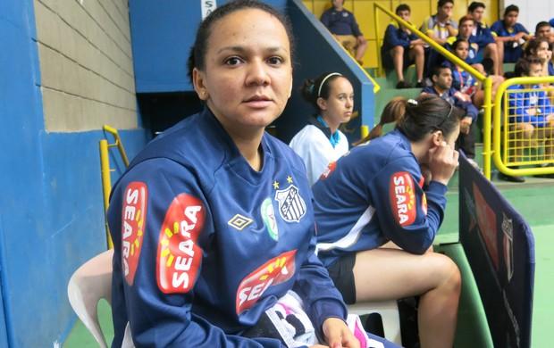 Mesatenista Ligia Silva Santos (Foto: Bruno Gutierrez)