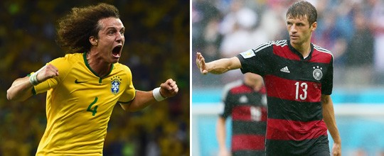 Brasil vai de amarelo, e Alemanha vestirá rubro-negro (Getty Images)