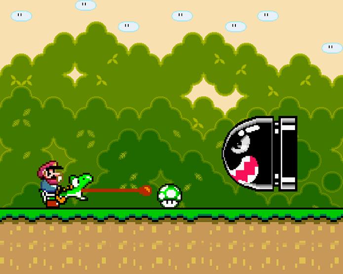 Super Mario World é um dos mais populares de todos os tempos (Foto: Reprodução)