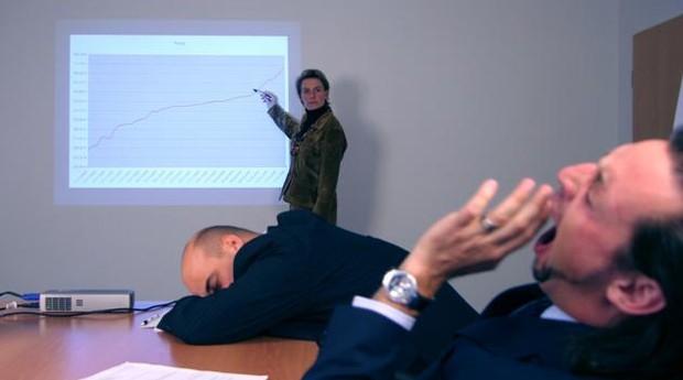 Não faça ninguém dormir: 10 slides é um bom número para uma apresentação (Foto: Reprodução)