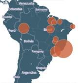 Dados mostram casos de trabalho escravo (País ainda luta contra o trabalho escravo (Saiba onde há casos de trabalho escravo no país (Editoria de arte/G1)))