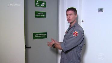Bombeiros dão dicas para se salvar de incêndios em casa