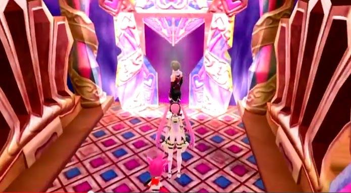 Explore as salas para encontrar o chefe ou a saída do labirinto (Foto: Divulgação)