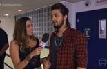 Luan Santana entrega apelidos dos familiares nos bastidores do 'Tamanho Família'