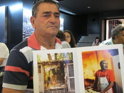 Altair Antunes Guimarães, líder comunitário da Vila Autódromo (Foto: Thierry Gozzer)