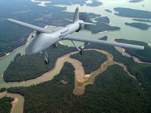Drone da Avibras, chamado de Falcão (Foto: Avibras/divulgação)