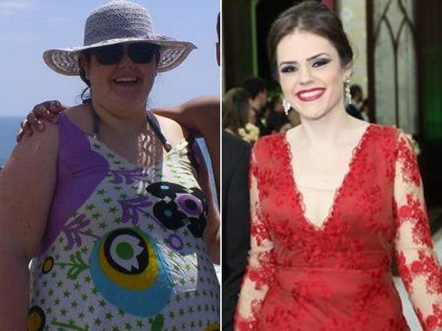 Maryane tem mais disposição e autoestima depois de ter emagrecido 82 kg (Foto: Maryane Coan/Arquivo pessoal)