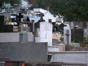 Cemitério Municipal de Juiz de Fora (Foto: Reprodução/TV Integração)