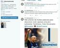 Efeito Gabigol: Inter de Milão lança perfil em português no Twitter