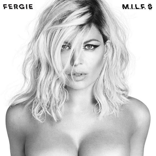 Fergie em capa de novo single (Foto: Instagram/ Reprodução)